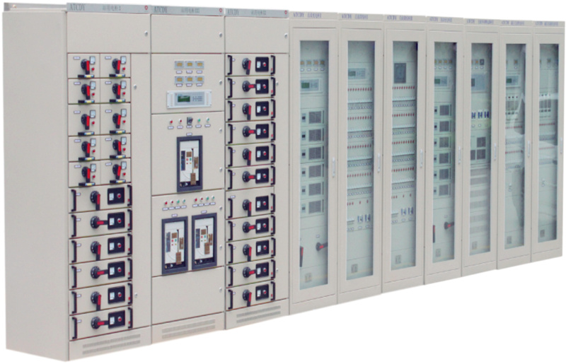 Intelligent integrated power supply system