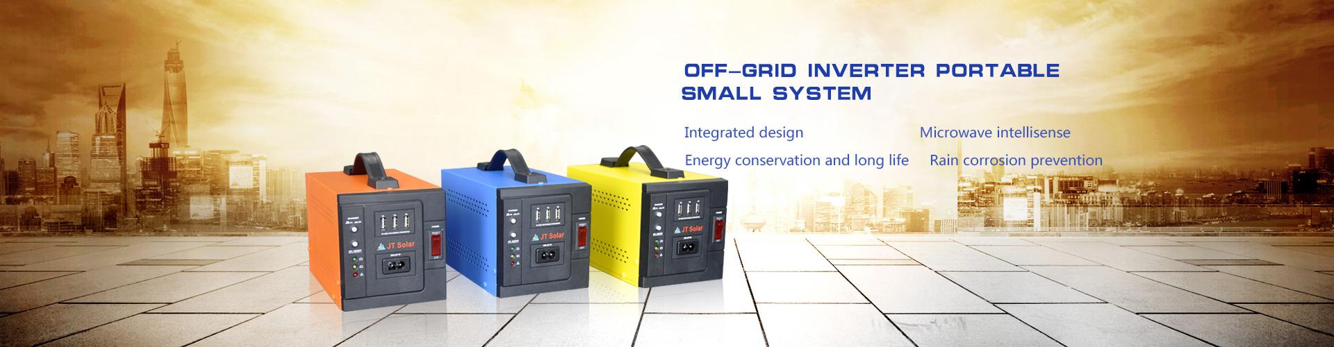 Off-grid inverter portable