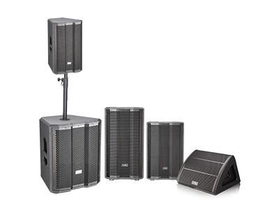 有源三分频同轴DSP音箱 KT系列