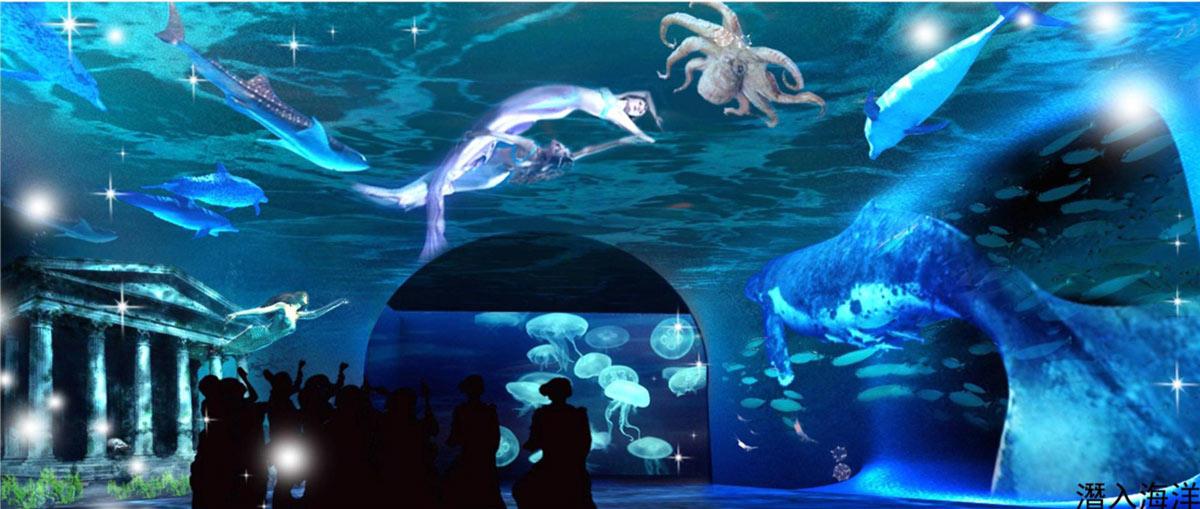 壁纸 海底 海底世界 海洋馆 水族馆 1200_509