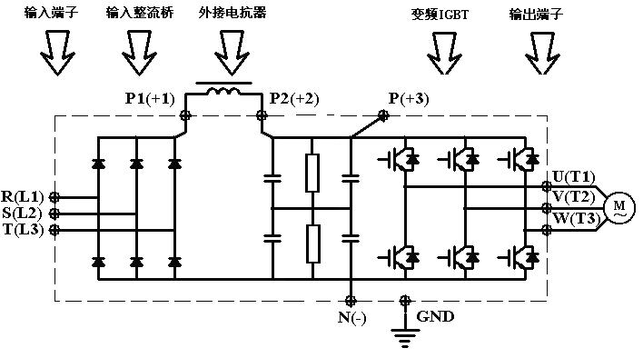 首页 产品中心 产品 基础产品  制动单元输入接线端子,与变频器直流