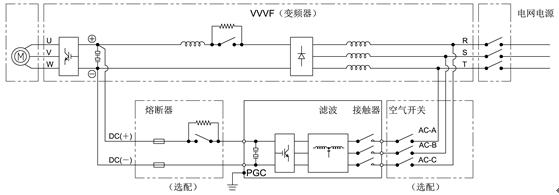 pgc机床节能制动器接线及工作原理图如下