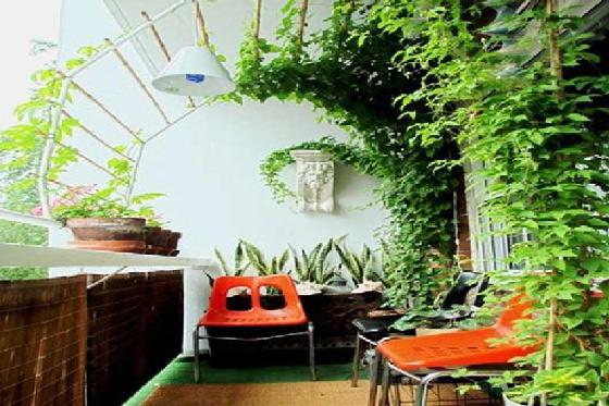 首页 园艺服务 室外内园艺设计 阳台花园  阳台是室内的延伸,立茵家