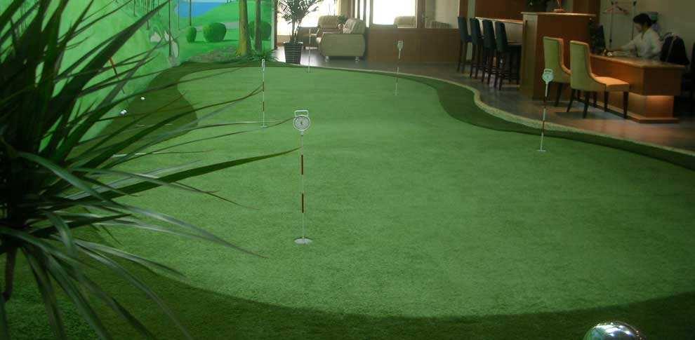 哈尔滨第七大道室内高尔夫无线项目