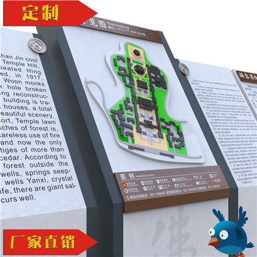 总平面全景导览图 - 标识标牌设计制作 - 重庆笨鸟