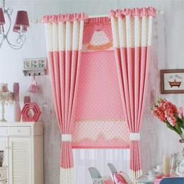 星星图案卧室窗帘