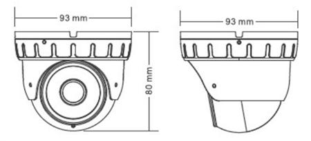 防水防暴半球型高清网络摄像机 c1 - 车载录像机 - 市