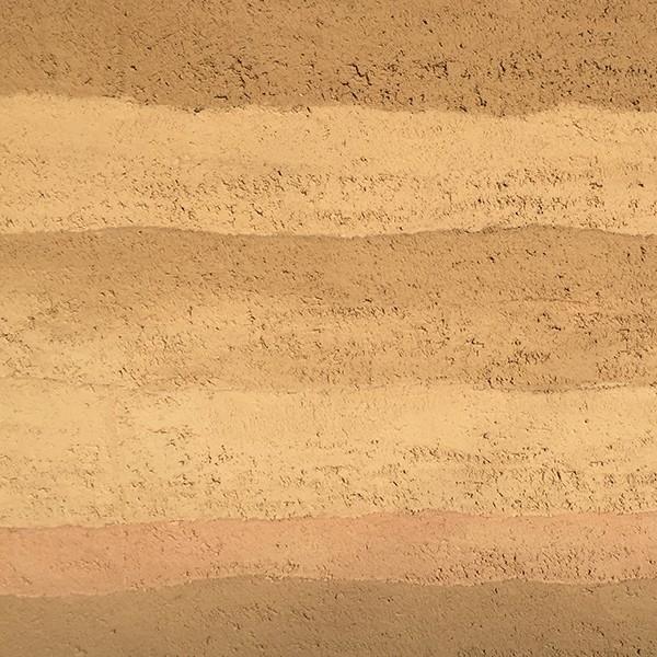 仿分層夯土