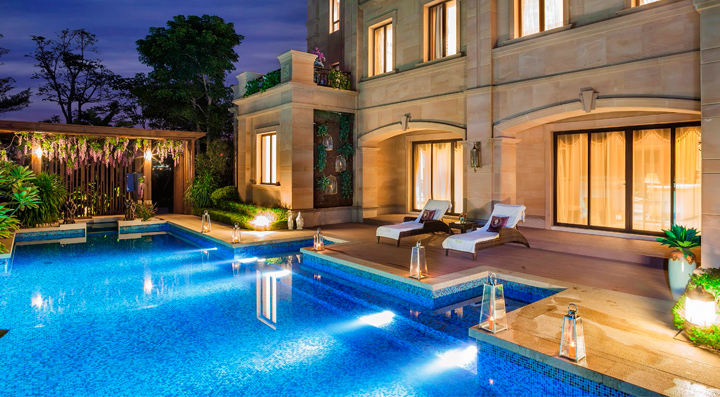 别墅游泳池 - 别墅游泳池