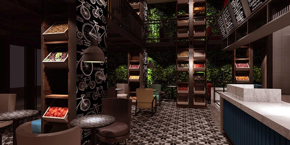 52号咖啡厅 -餐厅形象设计