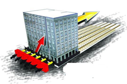 建筑物的整体平移,是一项技术要求较高