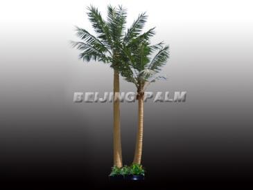 zls-y2产品说明:1,品种:室外椰子树(长树叶),两棵一组,略弯杆2,高度:4