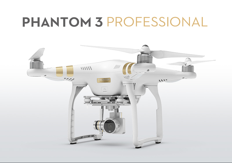 大疆专业航拍无人机 精灵 phantom 3 profession
