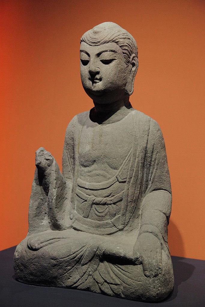 石雕藏式佛像浮雕图片展示