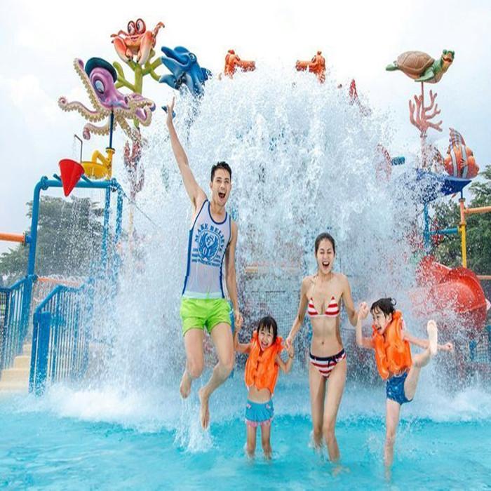 河北邯郸维也纳水上乐园选用小泥人电子票务分销系统 微信订票系统。