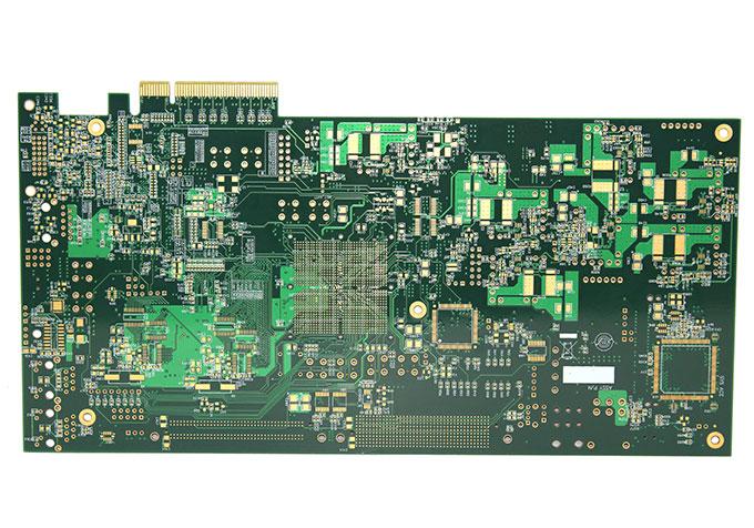 汇合电路[官网]10层中tg金手指pcb电路板-金手指板-10