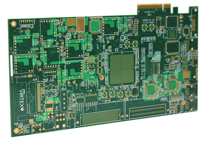 应用行业:工业控制 应用产品:金手指卡板 层数:10 特殊工艺:金手指 表面处理:沉金 材料:中TG FR4 外层线宽/线距:4/4mil 内层线宽/线距:4/4mil 板厚:1.6mm 最小孔径:0.2mm