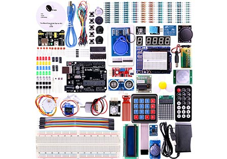 Elegoo UNO Project The Most Complete Starter Kit for Arduino Mega2560 UNO Nano (63 Items and Tutorial in CD)
