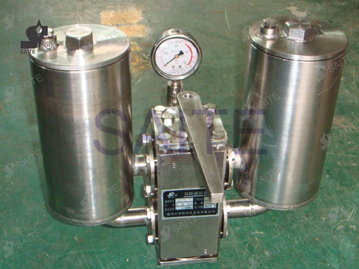 切换式双联润滑油过滤器