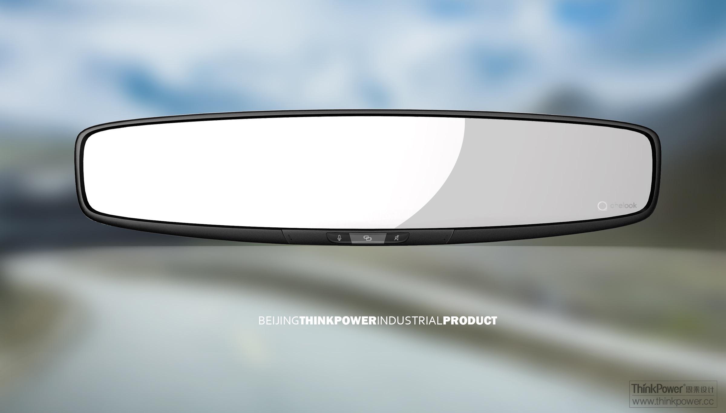 汽车导航后视镜 - 智能硬件 - 北京思乘创新工业设计