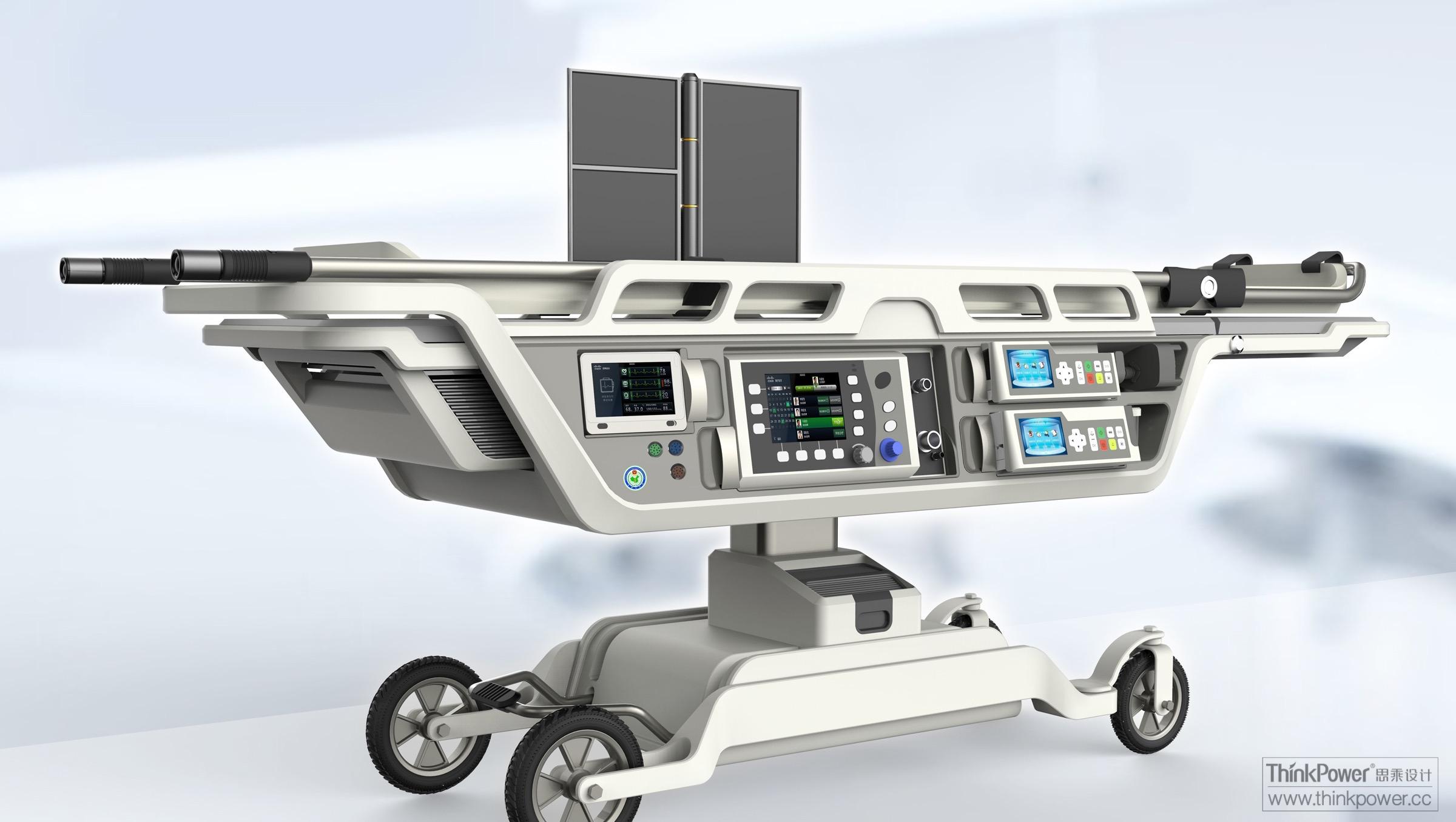 直升机应急救援 - 医疗健康 - 北京思乘创新工业设计