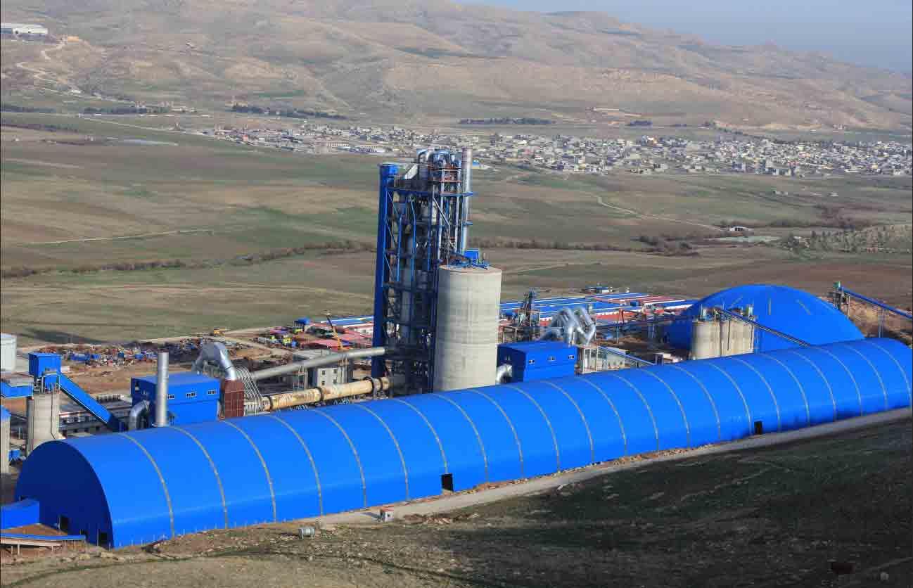 Iraq DELTA 5300t/d Cement Production Line