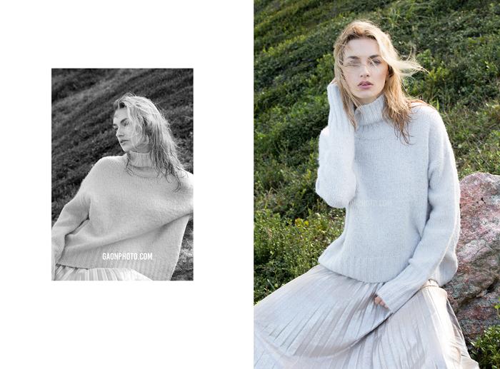 商业摄影:服装模特摄影,外籍模特,外景拍摄.