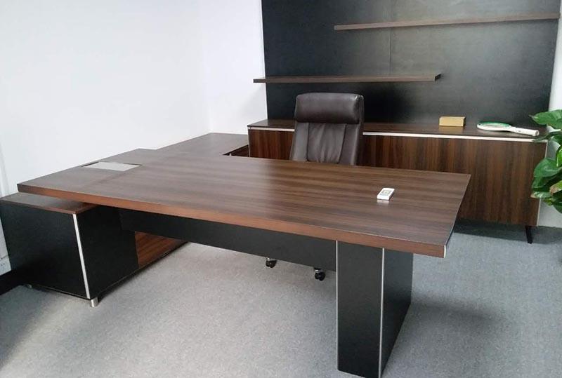 简约时尚板式经理桌、老板桌