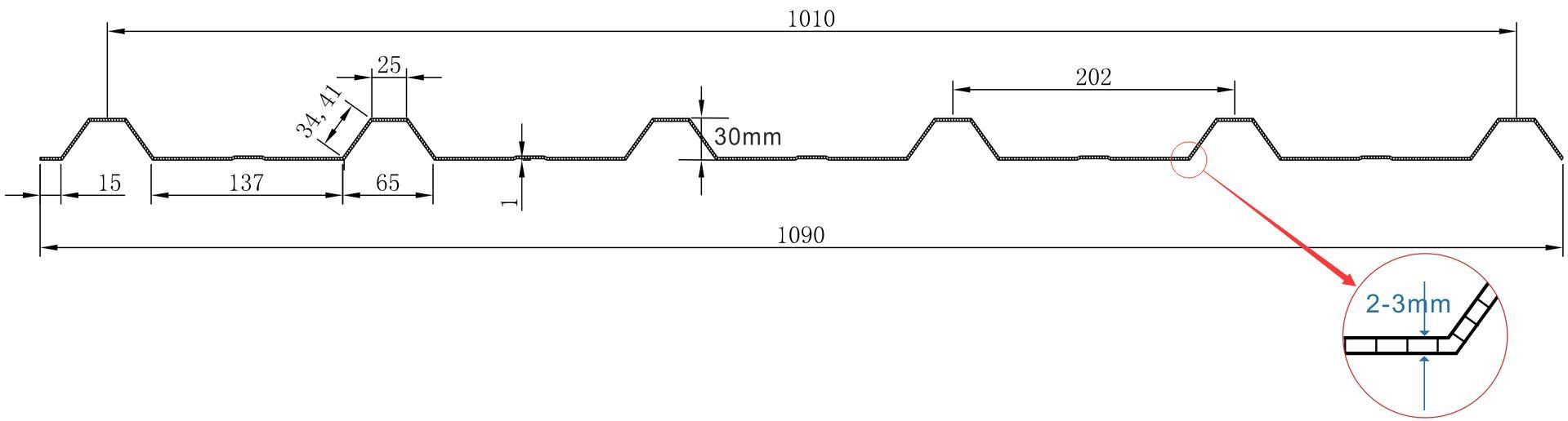 中空型PC瓦楞板
