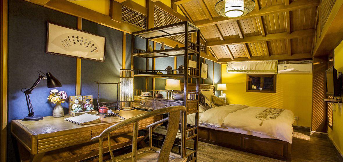 美丽的丽江客栈民宿 - 中式室内设计 - 艺观东方--最