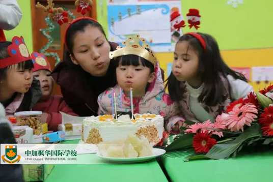 枫华幼儿园生日会:让我们用分享,感恩来刻画孩子的童年
