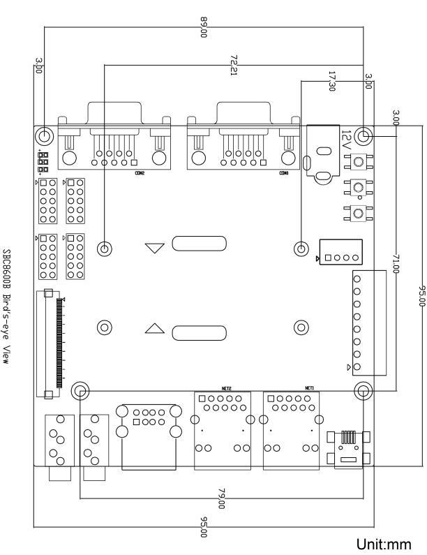 SBC8600B单板机