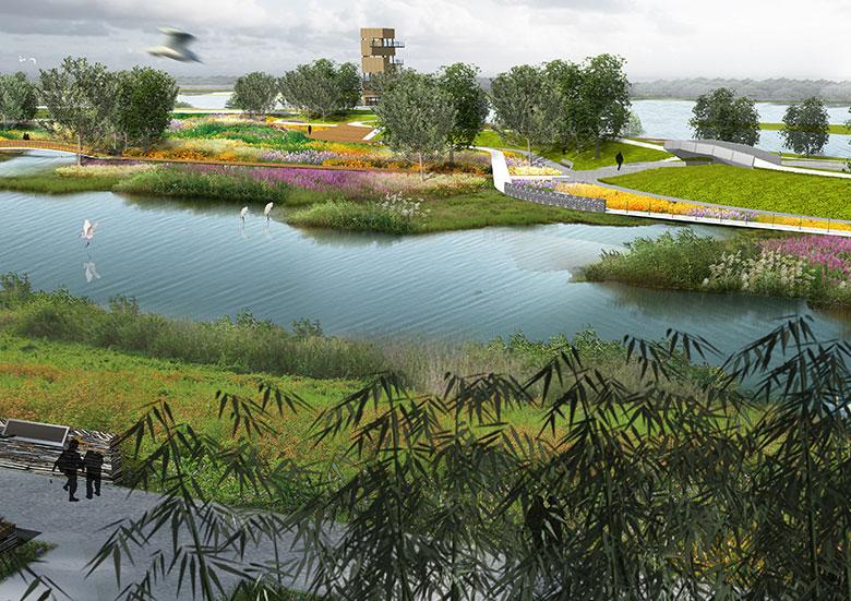 广东东江国家湿地公园景观规划设计