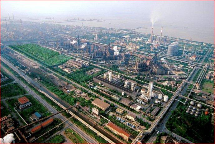上海宝山钢铁