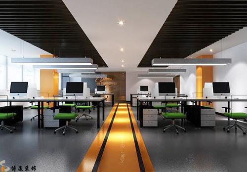 办公室装修的对称设计