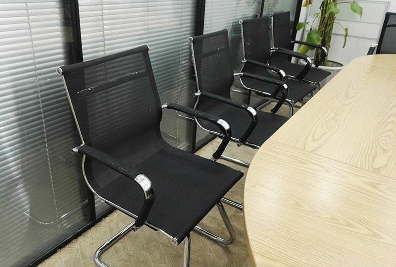 钢架洽谈椅、办公椅
