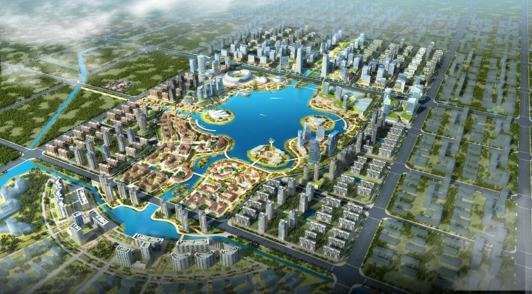 河南武陟产业新城概念规划与城市设计