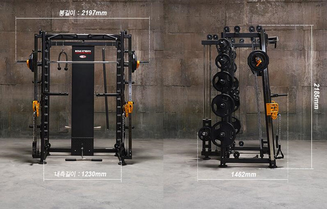 """最实用的""""全身器械""""——多功能史密斯训练器"""