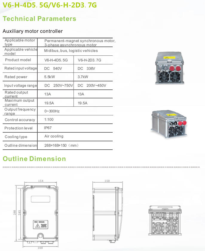 Auxiliary Motor Drive Controller