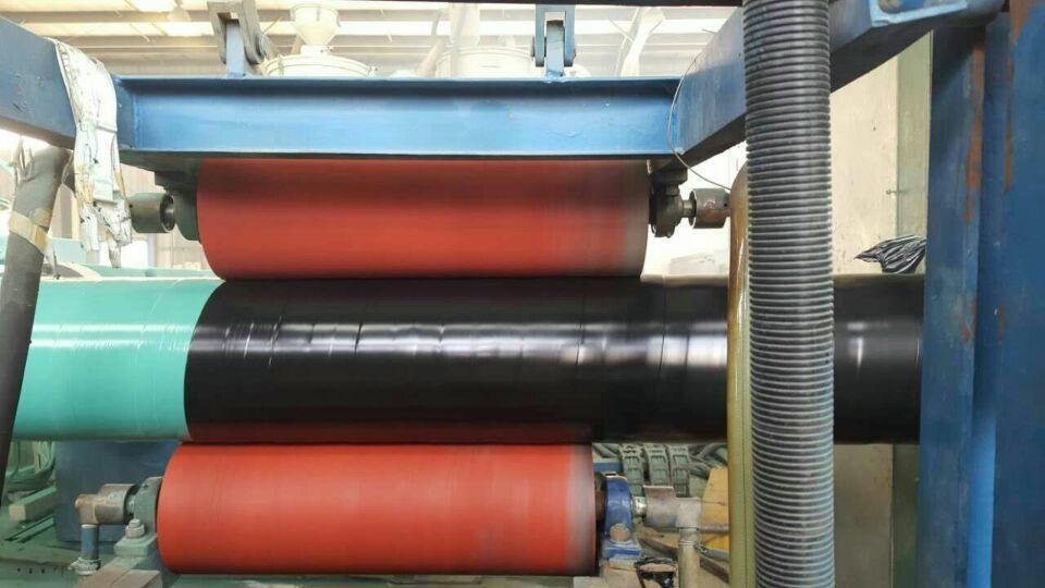 外缠绕聚乙烯内熔结环氧防腐钢管