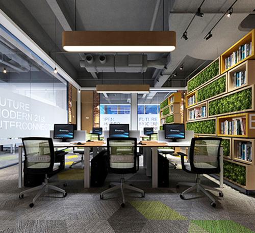 电商办公室装修设计
