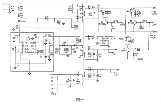 3844 k3565组合电路图