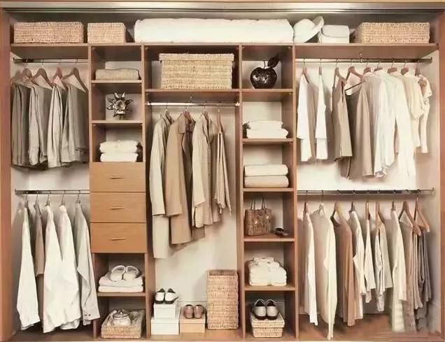 定制衣柜常见尺寸与内部结构