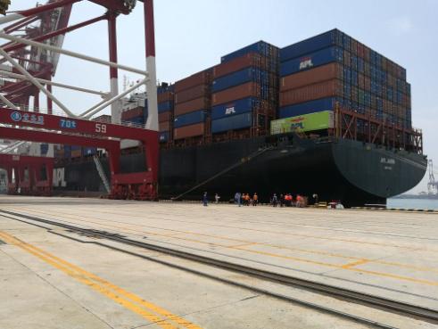 青岛港首套高压船舶岸电系统案例