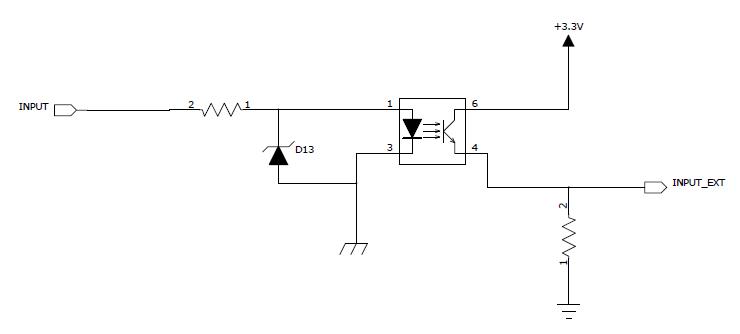 rs光耦隔离电路