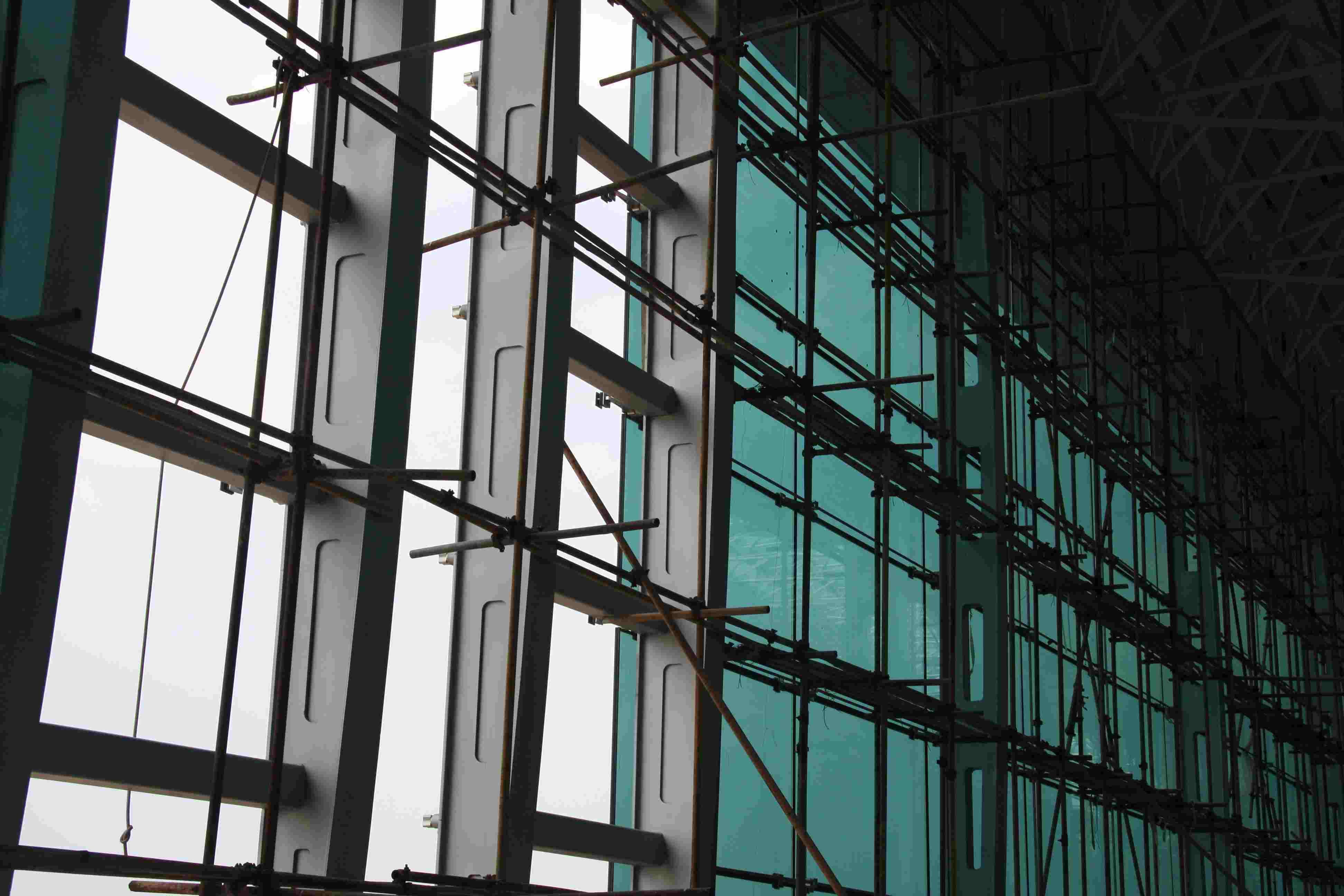 白云机场幕墙钢结构防腐工程 - 钢结构防火涂料 - 市