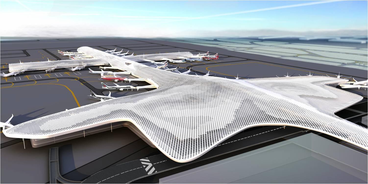 深圳机场航站楼钢结构防腐工程