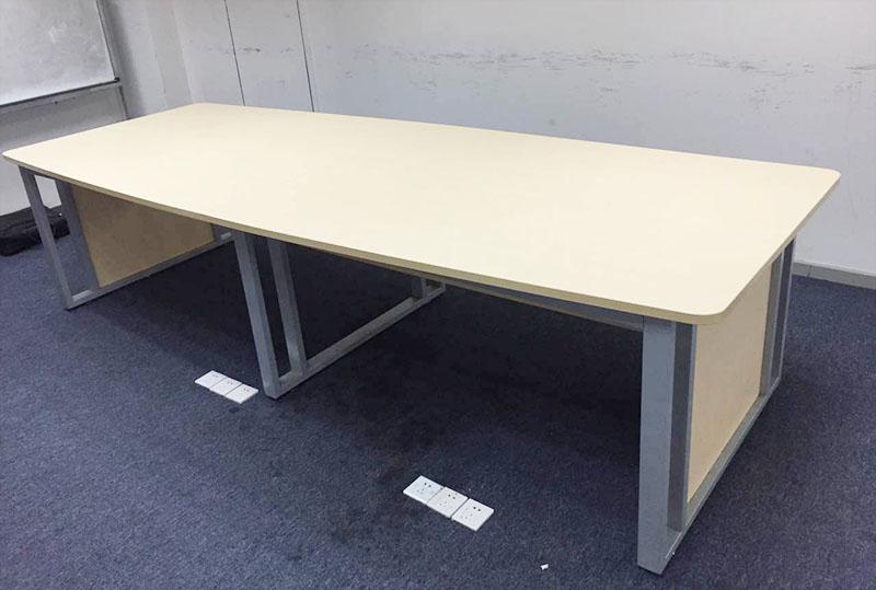 2800W*500D*600H长方形会议桌、洽谈桌