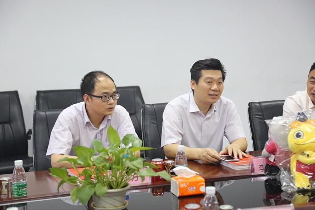 【官方】合作共赢,鄂州市鄂城区领导参观英迈思集团