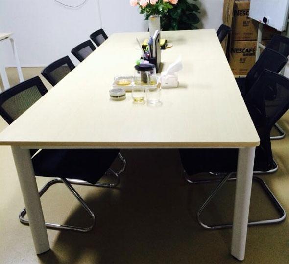 优质板材95成新办公会议桌